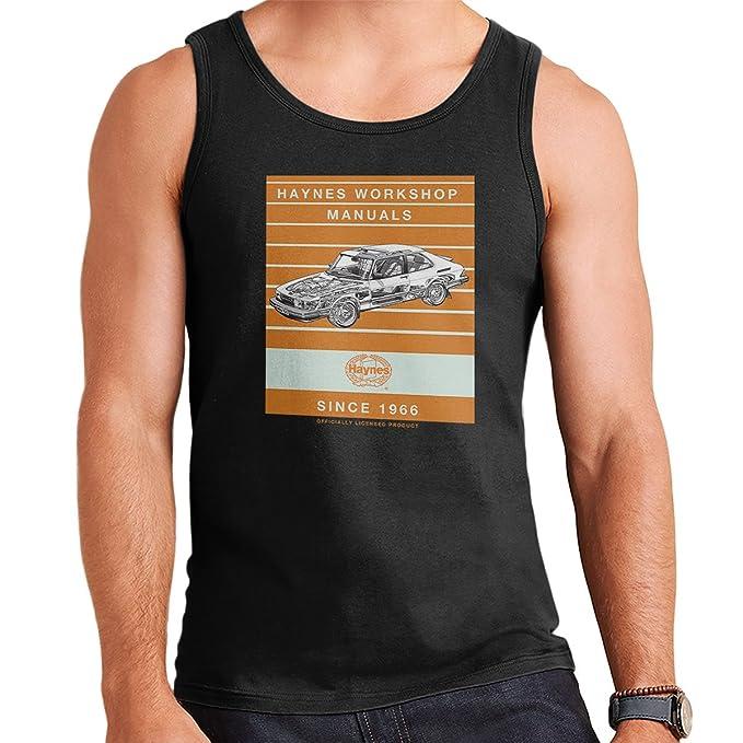 Haynes Workshop Manual 0765 Saab 900 Turbo Stripe Mens Vest