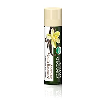 Avalon Organic Botanicals Soothing Vanilla Rosemary Organic Lip Balm, 0.15 Oz, 3 Pack USDA Organic White Beeswax Pellets by Sky Organics (1lb) (4 Pack) -Superior Quality Pure Bees Wax No Toxic Pesticides, Chemicals - 3x Filtered, Easy Melt Pastilles-DIY, Candles, Skin Care, Lip Balm
