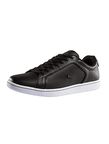 1c769f1799391 Lacoste Carnaby Evo 317 10 SPM LTH Shoes Blk Wht 10