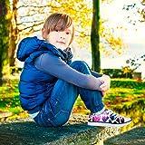FOR U DESIGNS Purple Glitter Children Kids Sport