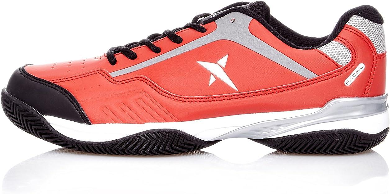 DROP SHOT Zapatillas Concep Rojo EU 43: Amazon.es: Zapatos y complementos