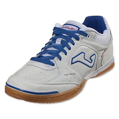 3b05a95ae Joma Men s Futsal Shoes White White Blue  Amazon.co.uk  Shoes   Bags