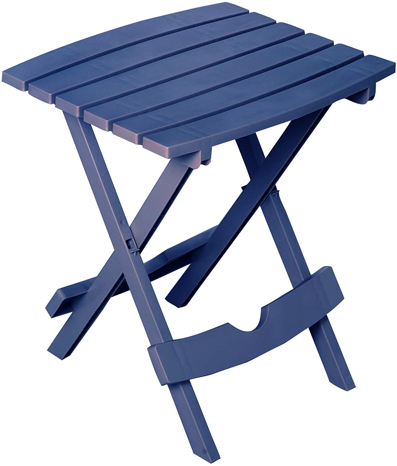 Adams Manufacturing 8510-36-3700 Quick-Fold Side Table, Patriotic Blue