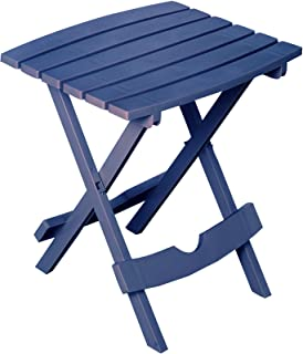 product image for Adams Manufacturing 8510-36-3700 Quick-Fold Side Table, Patriotic Blue