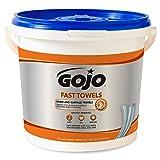 GOJO Fast Towels, Fresh Citrus Scent, 130 Count