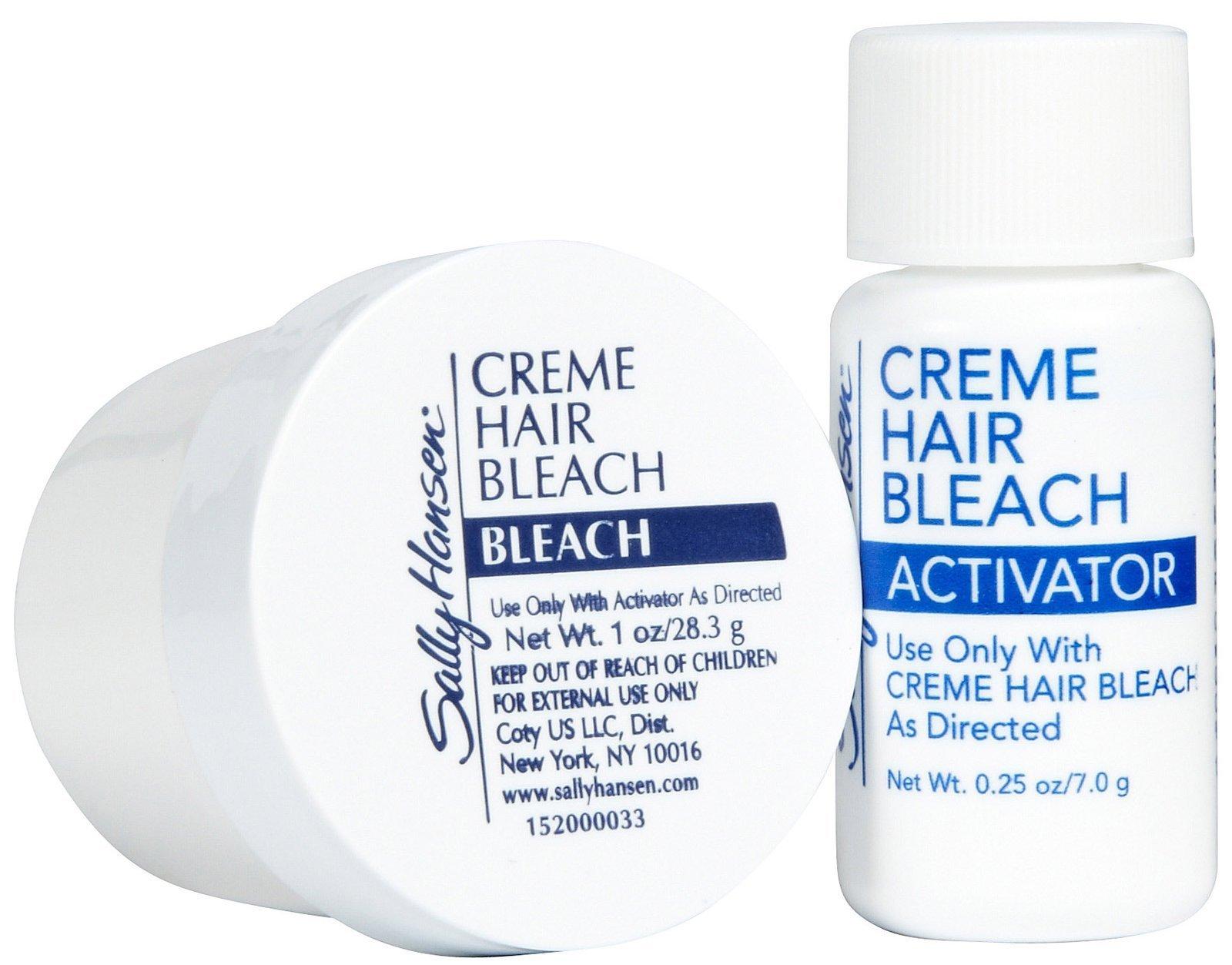 Sally Hansen Creme Hair Bleach For Face 1 Oz