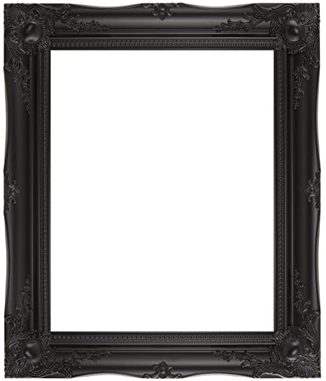 BLACK SHABBY CHIC ANTIQUE STYLE POSTER PICTURE FRAME 36\