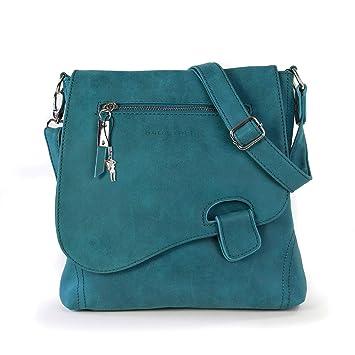 ec4d2448e6c Bag Street - Bolso al hombro para mujer Azul azul medium  Amazon.es   Equipaje