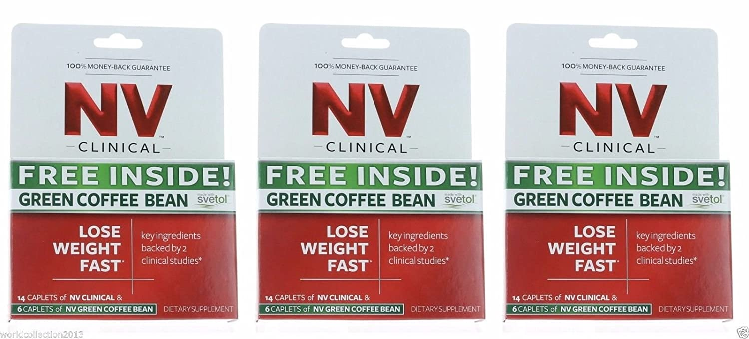Amazon Com Nv Clinical Hollywood Diet Weight Loss 42 Caplets 18