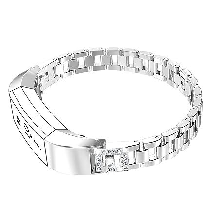 Amazon Com For Fitbit Alta Bandsfitbit Alta Hr Wearlizer Metal