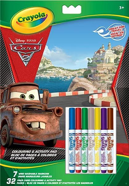 Crayola 20 páginas para Colorear Cars: Amazon.es: Juguetes y juegos