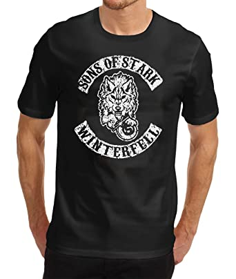 6ac09ad648ca Sons of Stark Winterfell T-Shirt - Game of Thrones Fan T-Shirt ...