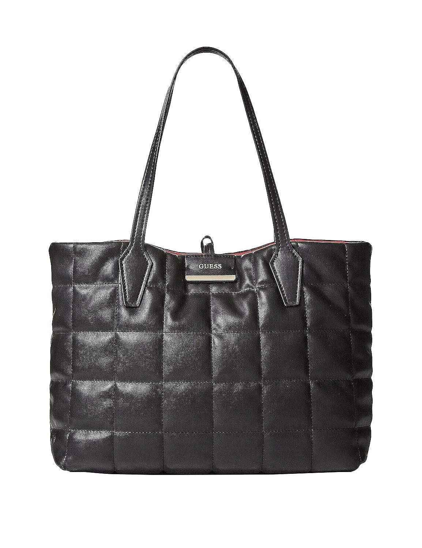 Borsa Guess shopping Vikky tote convertible pouch con pochette colore nero Dimensioni borsa Media
