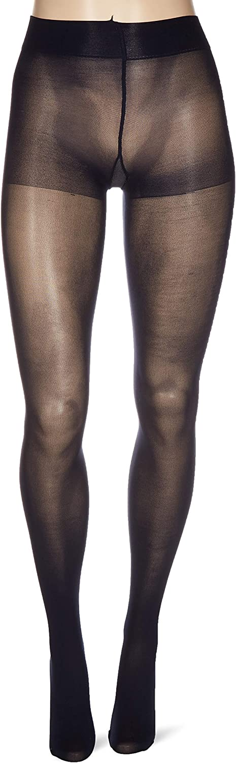 Hue womens Opaque Tights With Control Top 2 Pack Tights
