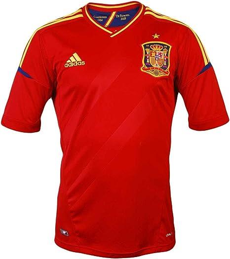 Adidas España Euro Casa Hombres Jersey: Amazon.es: Deportes y aire libre