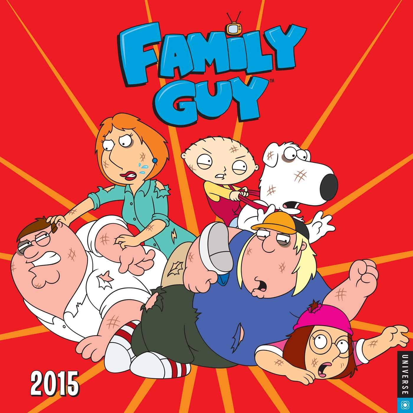 Download Family Guy 2015 Wall Calendar ebook
