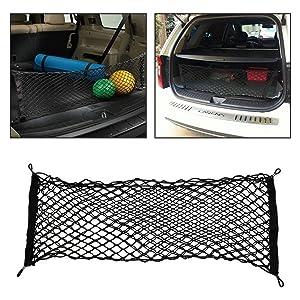 New Silverline UNIVERSAL CAR//VAN ELASTICATED CARGO LUGGAGE NET 90cm x 115cm