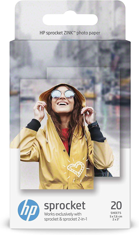 50 fogli 5 x 7,6 cm ZINK Print Paste Paper per Xiaomi Pocket Print Paste Paper