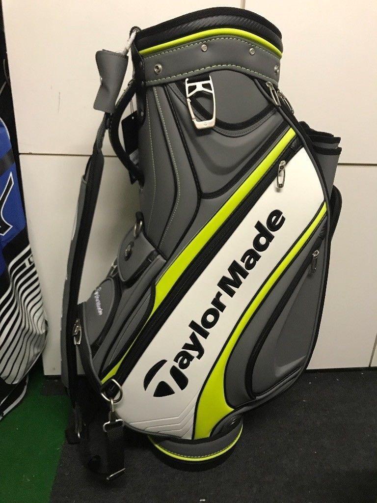 TaylorMade Tour Cart Bolsa para Palos de Golf, Hombre, Gris ...