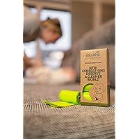 Balsane Sustainable Products Biologische luierzakken, 120 scheurvaste hoogwaardige zakken, 100% composteerbaar en…