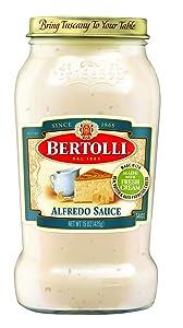 Bertolli Alfredo Sauce with Aged Parmesan Cheese, 15 oz