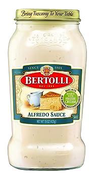 Bertolli Aged Parmesan Cheese Alfredo Sauce