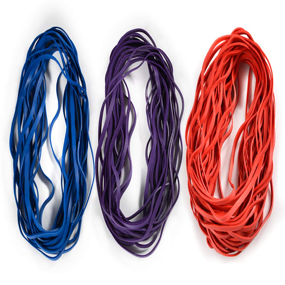 5 Large QUALITY Rubberbands 55-65 Gallon Garbage bin Bands Trash liner bands NEW