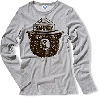product image for Hank Player U.S.A. Official Smokey Bear Women's Long Sleeve T-Shirt