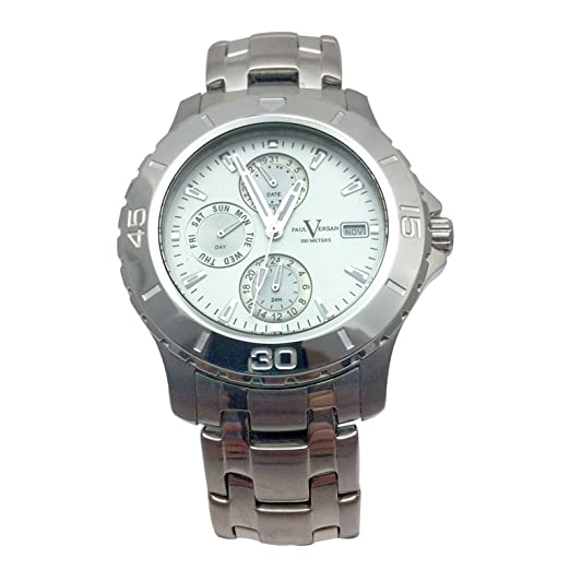 f5b6685528e0 Reloj Paul Versan  Amazon.es  Relojes