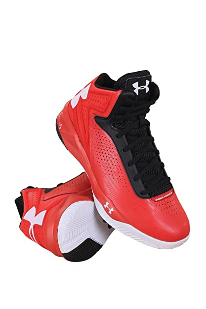 56bd0dcbd46 Image Unavailable. Image not available for. Color  Under Armour 1259034-600 Women  UA Torch RED White Black
