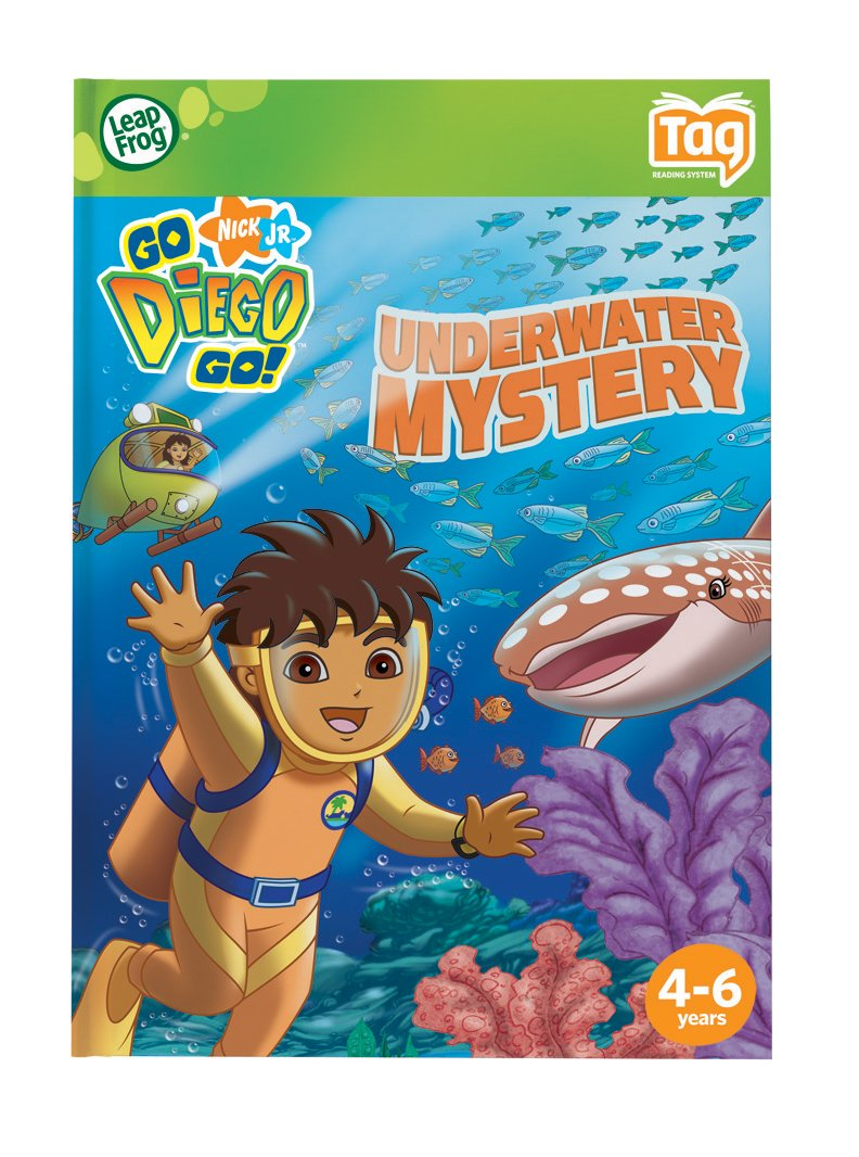 Leapfrog Tag Activity Storybook Go Diego Go!: Underwater Mystery by LeapFrog (Image #4)