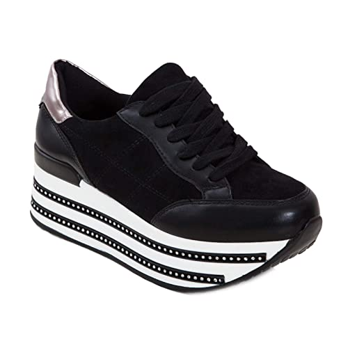 Stringate Sneakers Doppio Sportive Toocool Fondo Donna Scarpe FUqYYR8w