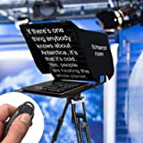 Leeventi Teleprompter 4.0 Multi-Compatible with Smartphones, Camcorder, DSLR Cameras