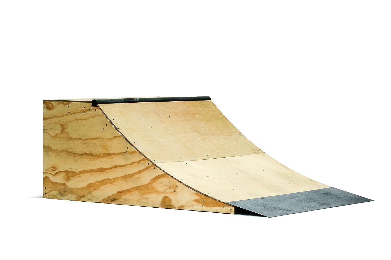 amazon com 2ft professional skateboard quarter pipe sports