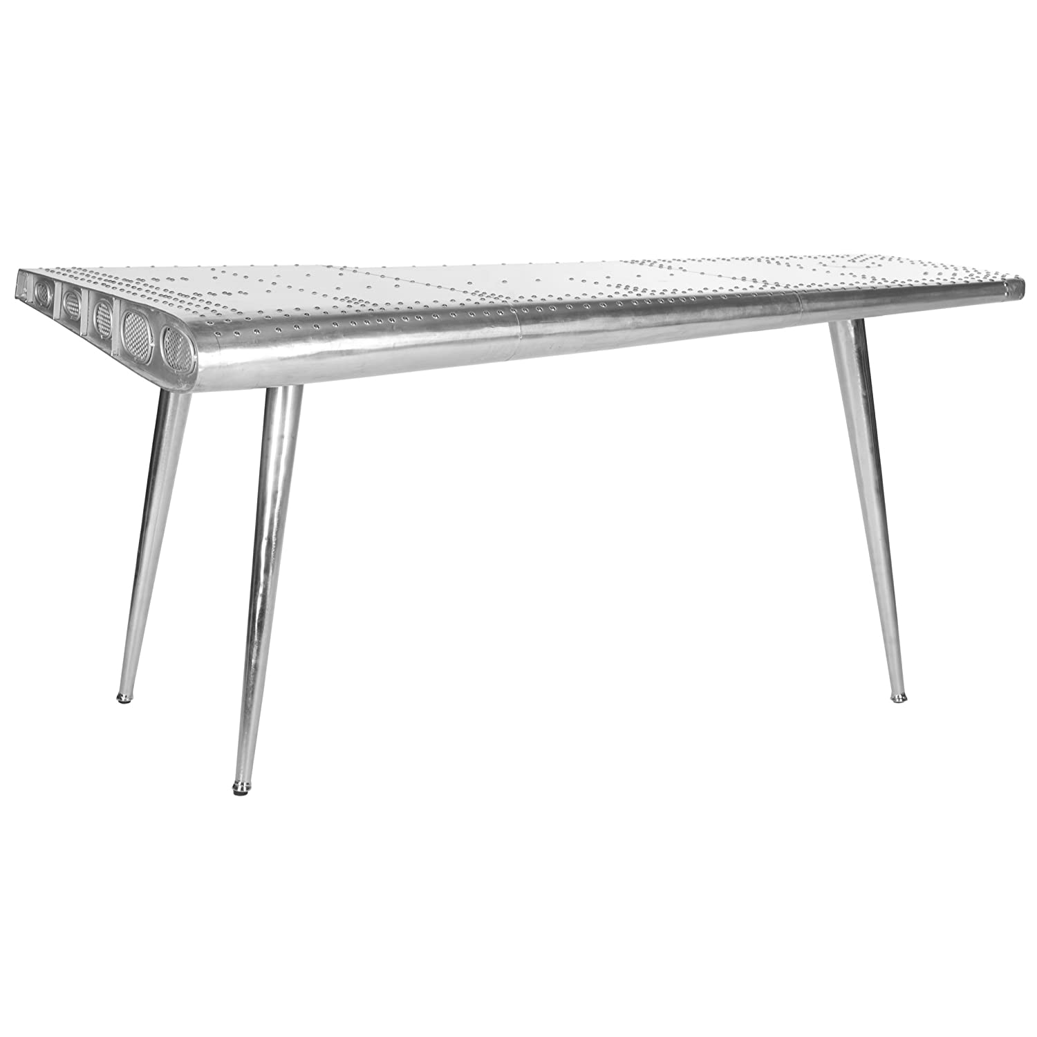 Amazon Safavieh Home Collection Aviator Silver Console Table
