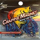 Leland Lures 87231 Crappie Magnet Hard Bait, Blue Finish