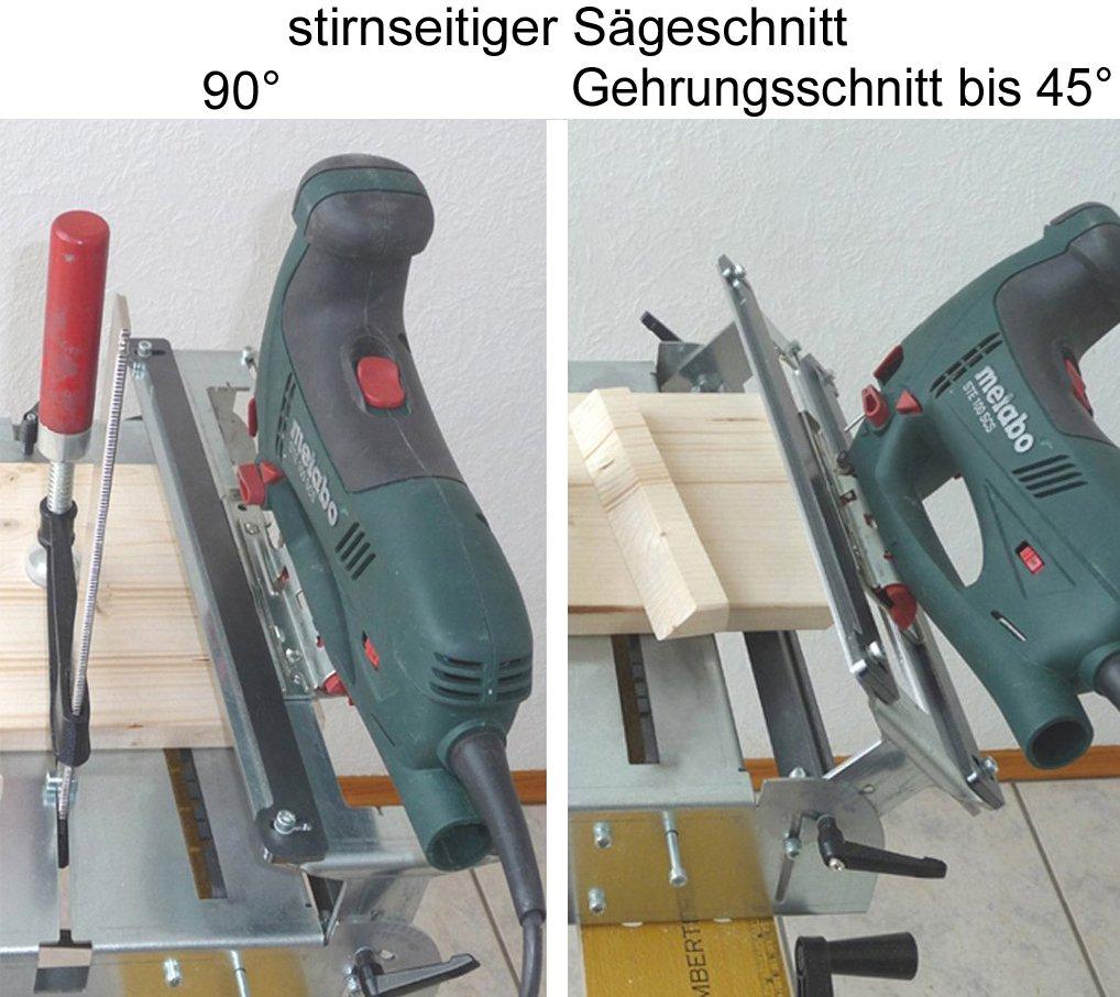 Sierra de calar mesa separador de franela 012l de 3 + Metabo Bosch ...