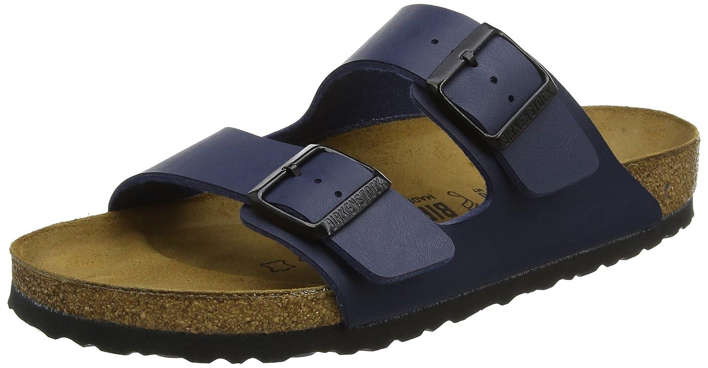 Birkenstock Arizona Birko-Flor - Sandalias infantil unisex 40 EU Azul (Blau)