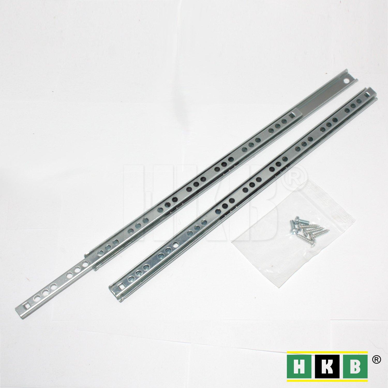 HKB ® Schubladenschiene Teilauszug, 310 - 17mm HKB ®