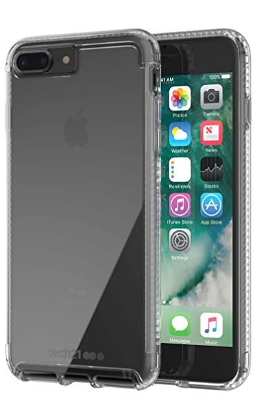 premium selection 0834f 04f06 Impact Clear Case for Apple iPhone 7+/8+ -