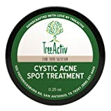 Amazon Price History for:TreeActiv Cystic Acne Spot Treatment, Best Extra Strength Fast Acting Formula for Clearing Severe Acne from Face and Body, Gentle Enough for Sensitive Skin, Adults, Teens, Men, Women (0.25 Ounce)