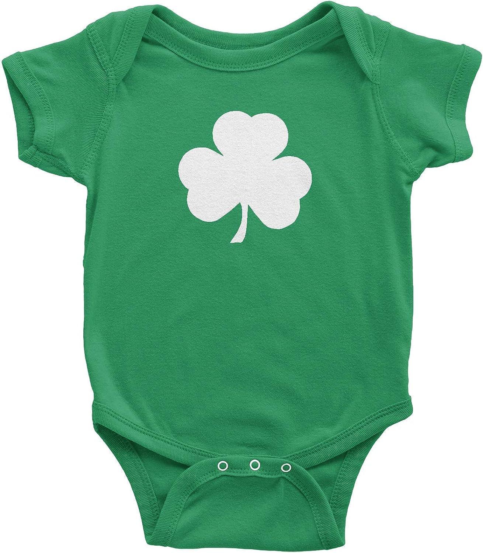 Patrick/'s Day Clover Infant Bodysuit Ireland St Distressed Irish Shamrock
