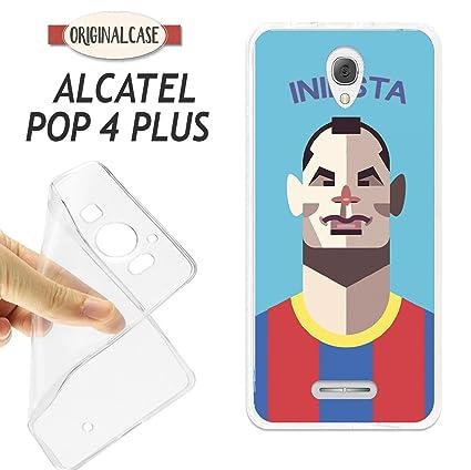 FUNDA CARCASA + PROTECTOR DE CRISTAL (OPCIONAL) ALCATEL POP ...