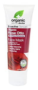 Organic Doctor Rose Otto Face Mask, 4.2 Fluid Ounce