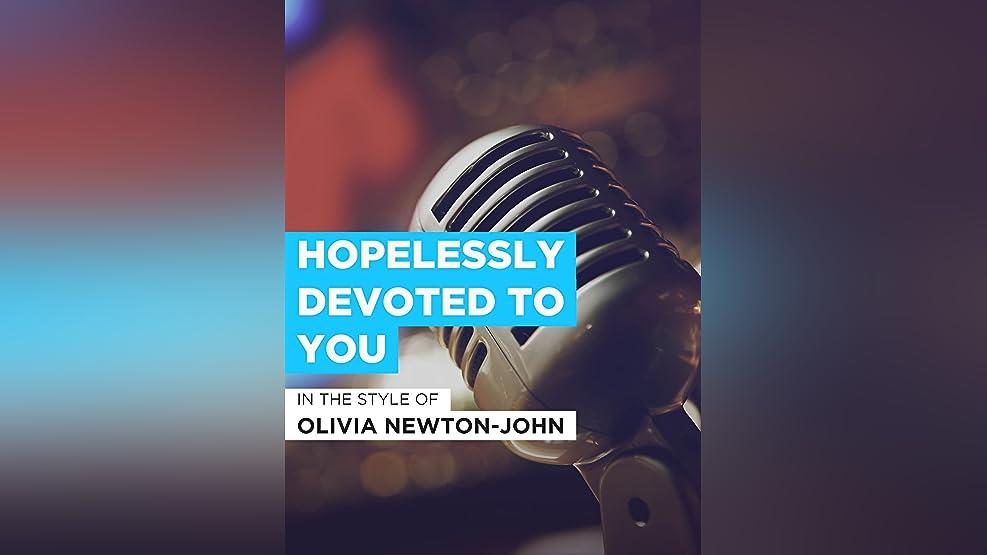 """Hopelessly Devoted To You im Stil von """"Olivia Newton-John"""""""
