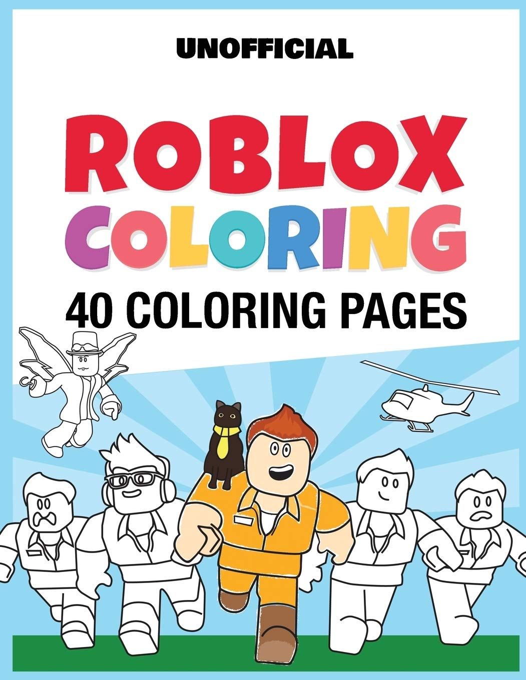 Roblox roblox-coloring-page-14 coloring pages | 1360x1051