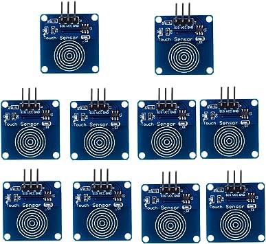 ESP8266. Capacitive Touch Sensor//Switch for Arduino Pi