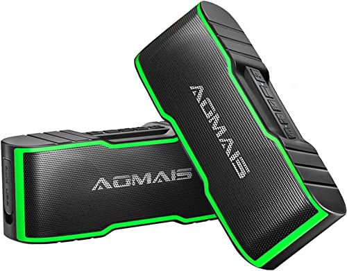 2-Pack AOMAIS Sport II Mini Portable Bluetooth Speaker
