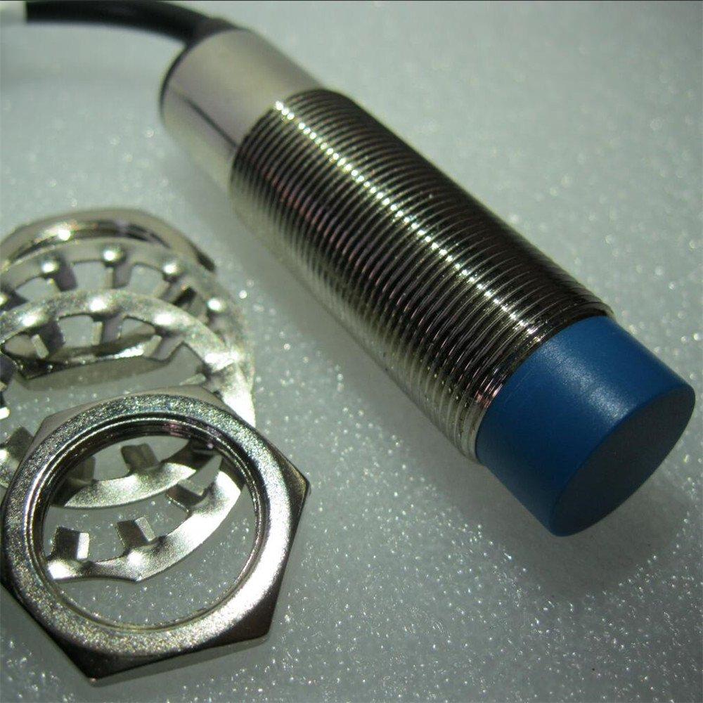 Taiss 5pcs LJC18A3-H-Z//AX 1-10mm distance measuring Capacitance Proximity Sensor Switch NPN NC DC 6-36V 300mA M18 3-wire