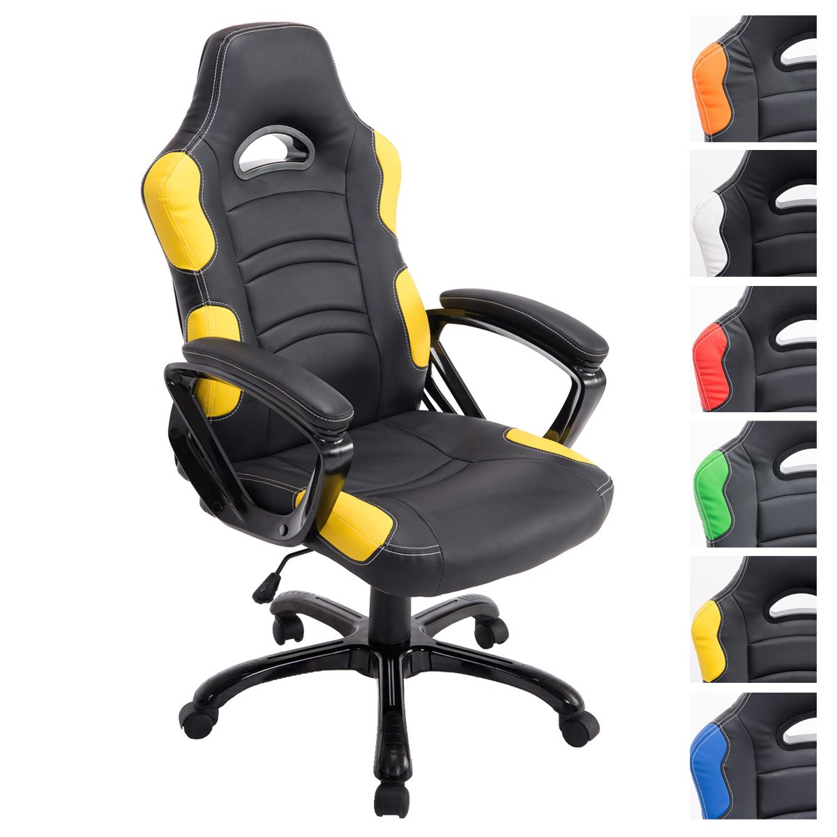 CLP Silla de ofricina RICARDO XL con la altura del asiento regulable ...